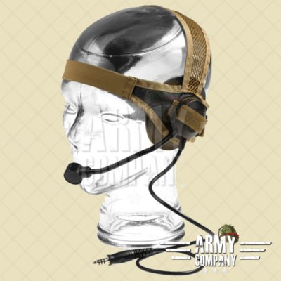Z-Tactical Swimmer headset - Dark Earth (Tan)