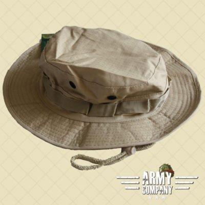 Bush hoed de luxe ripstop - Khaki