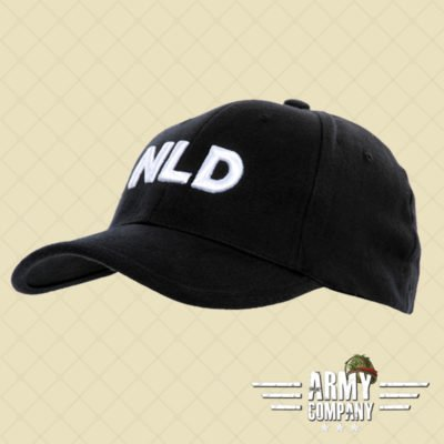 Baseball cap NLD - Black