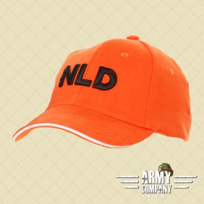 Baseball cap NLD - Orange
