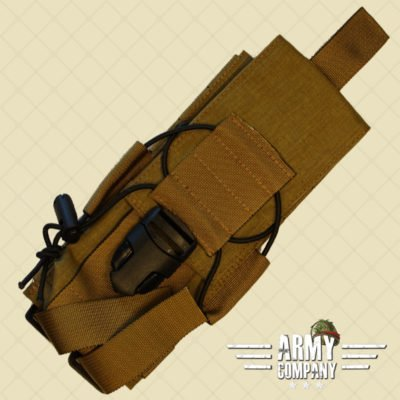 SAGear KDP pouch voor 2 magazijnen - Coyote