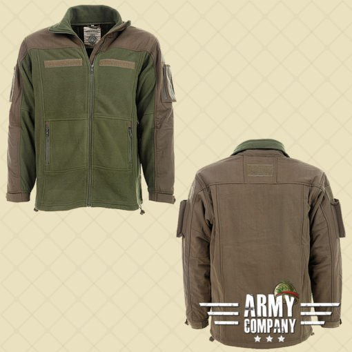Combat fleece vest - Groen