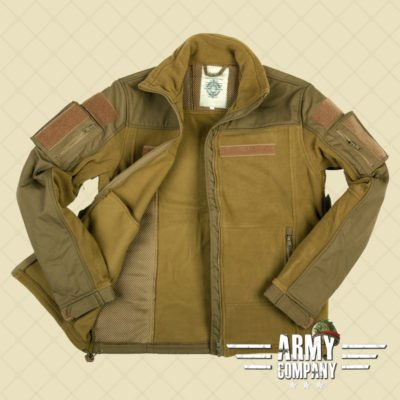 Combat fleece vest - Groen