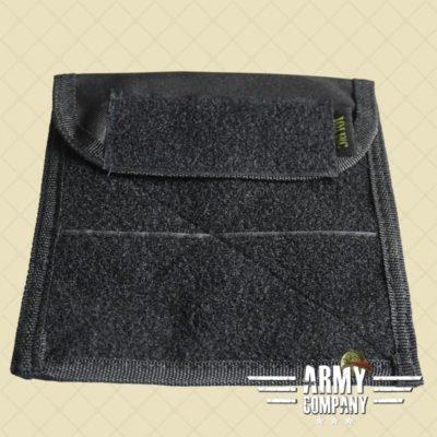 Molle pouch admin flat #H - Zwart