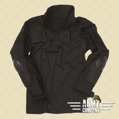 Tactical Mil-Tec shirt WARRIOR - Zwart