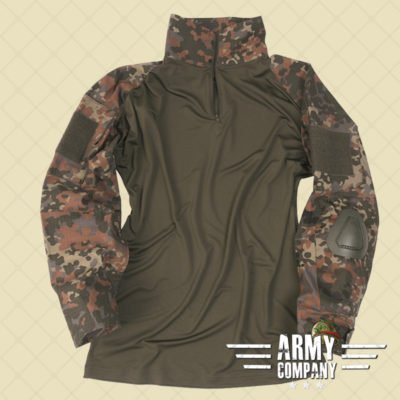 Tactical Mil-Tec shirt WARRIOR - Flecktarn