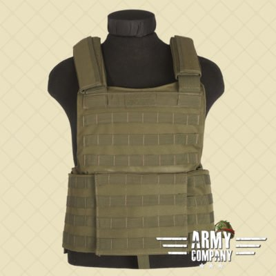Vest Lined Mil-Tec 'modulair systeem' - OD Green