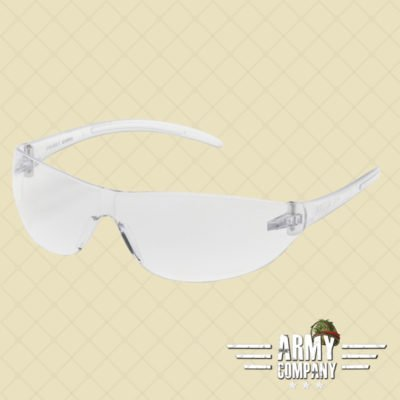 ASG clear googles