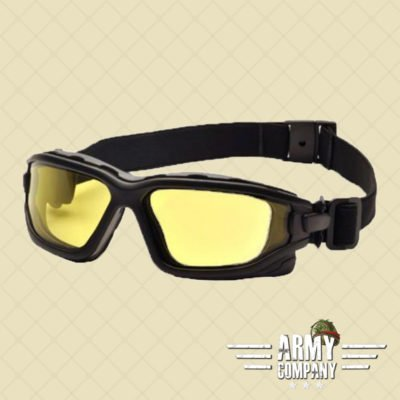 ASG Tactical Dual lens googles - Geel