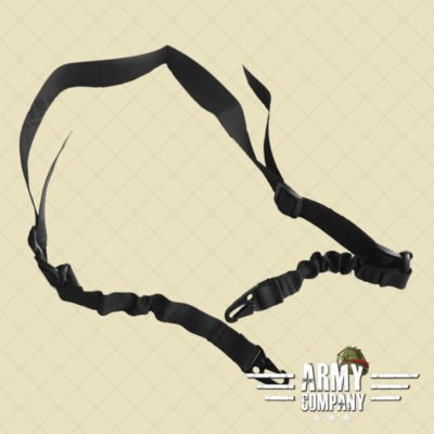 Tactical Bungee Sling dual - Black