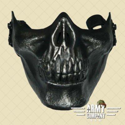 Skull Masker zwart gepatineerd