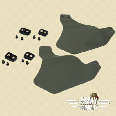Ear covers voor FAST helmet - OD Green