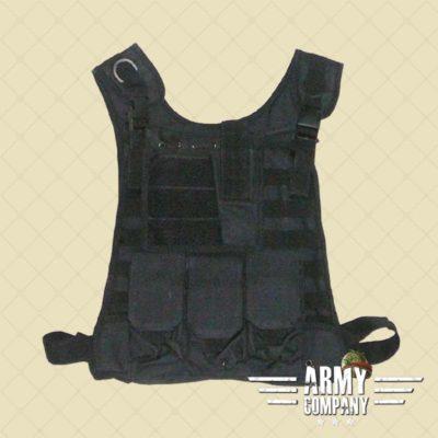 Warrior MOLLE light vest - zwart
