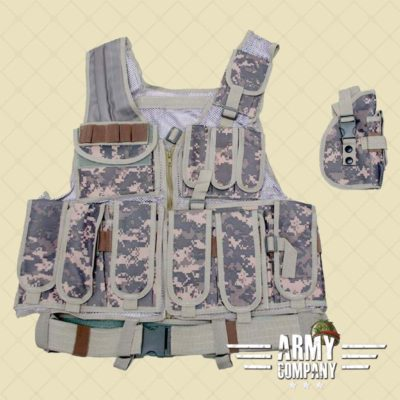 Warrior tactical vest - ACU