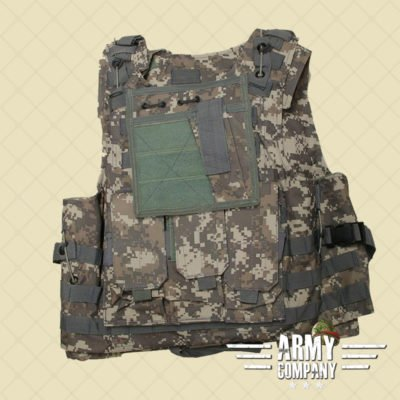 Warrior MOLLE wire vest - ACU
