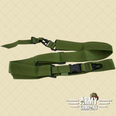 EM drie punt sling groen
