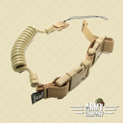 Emerson Tactische pistool lanyard - Tan Sand