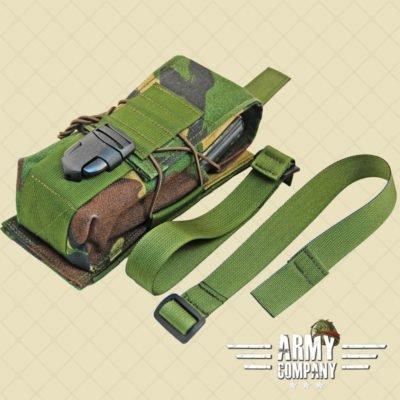 SAGear KDP pouch voor 2 magazijnen - DPM Woodland
