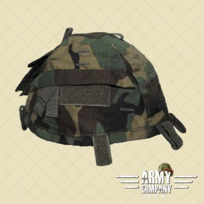 Tactical helmetcover MFH - Woodland