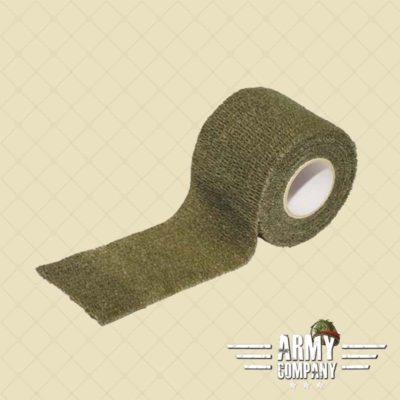 Camo tape stof - groen