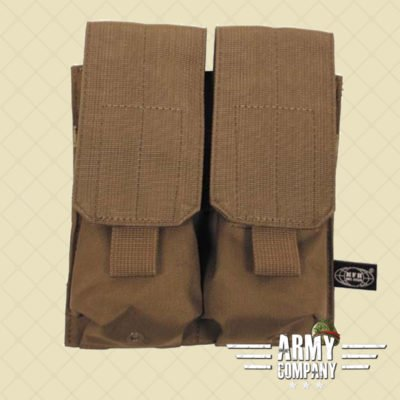 MOLLE pouch magazijn 2 x M16/M4 MFH - Tan Coyote