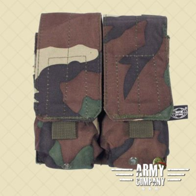 MOLLE pouch magazijn 2 x M16/M4 MFH - Woodland