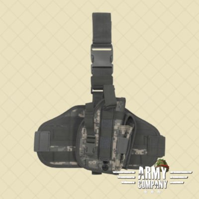 Tactical MOLLE pistool holster MFH - ACU