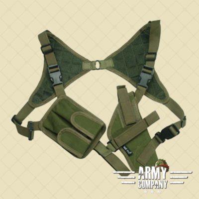 Onderarm sling holster met tegengewicht MIL-TEC - groen