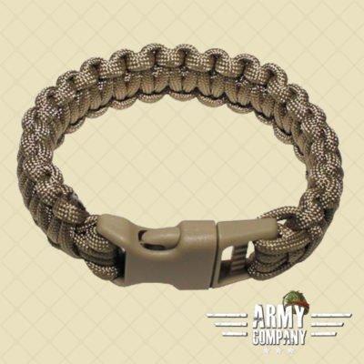 Armband Paracord MIL-TEC - Sand