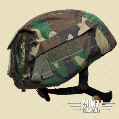 Mil-Tec helm cover - Woodland