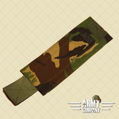 SAGear Simple Flap voor KDP pouch - DPM Woodland
